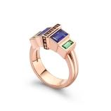 Art Deco Rose Gold Ring