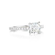 PLATINUM AND WHITE DIAMOND RING